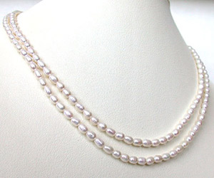 Love Line Pearl Necklace -2 To 3 Line Necklace
