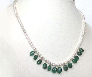 Vivacious Splendor -Emerald Pearl