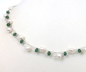 SN -176 Brilliance n Beauty -Emerald Pearl
