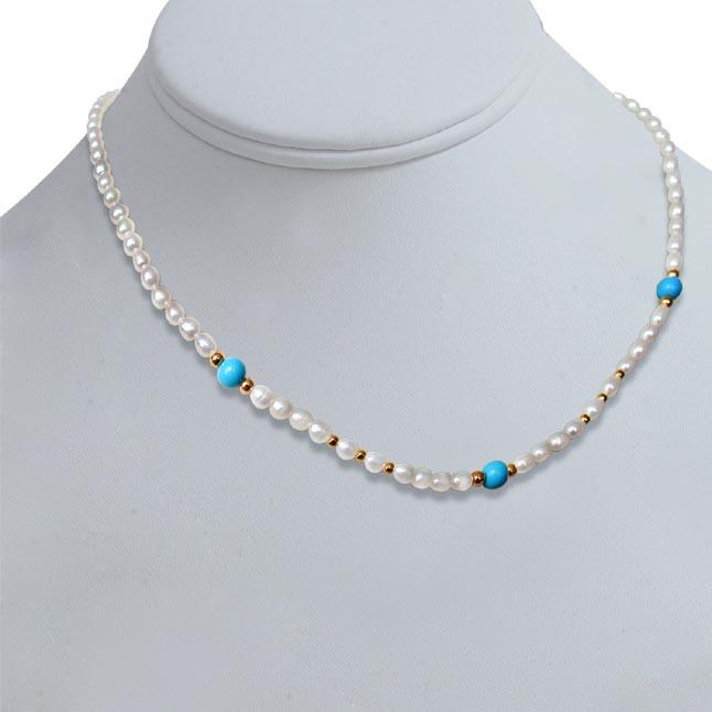 Turquoise Twinkle -Single Line