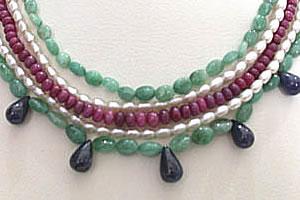 Bohemian Grace -Emerald Pearl