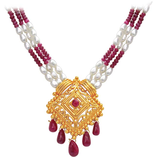 Indian Delights -Ruby+Pearl