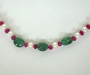 Single n Ready To Mingle? SN407 -Precious Stone Necklace