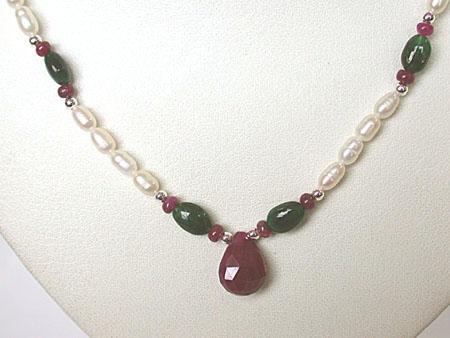 Ladylove -Precious Stone Necklace