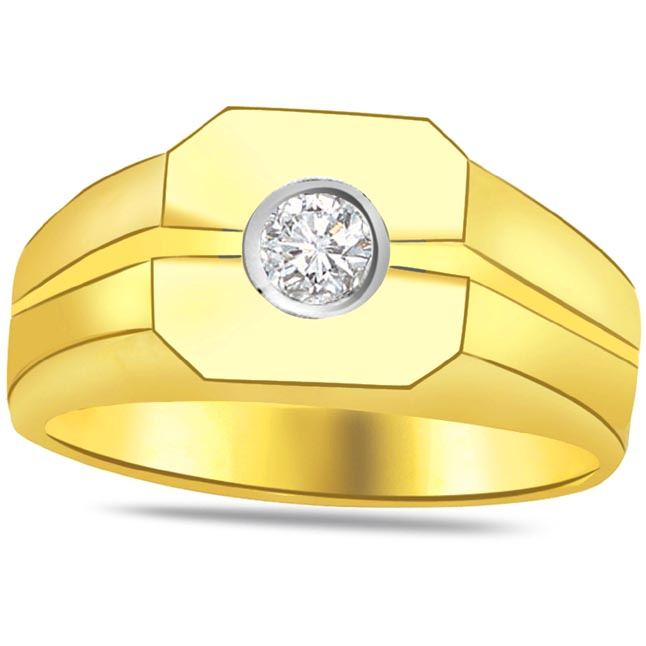 Solitaire Diamond Gold rings SDR789 -Solitaire rings