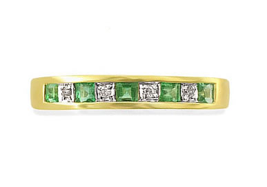 Sophistication -Diamond & Emerald