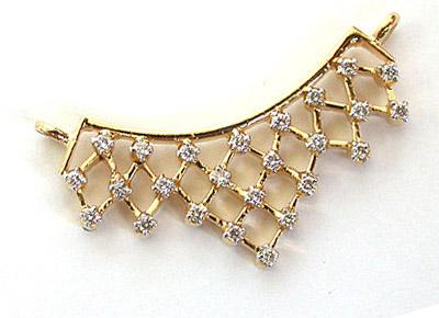 Soul mate Diamond Studded Necklace Pendants Necklaces
