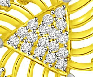 Sparkle Of Life Two Tone Diamond & Gold Pendants