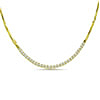Sparkling Love With Diamonds 1.00 cts Real Gold Diamond Necklace -Diamond Necklace