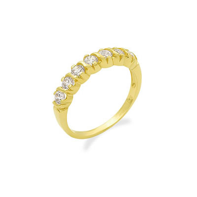 Special Occasions -Yellow Gold Eternity rings