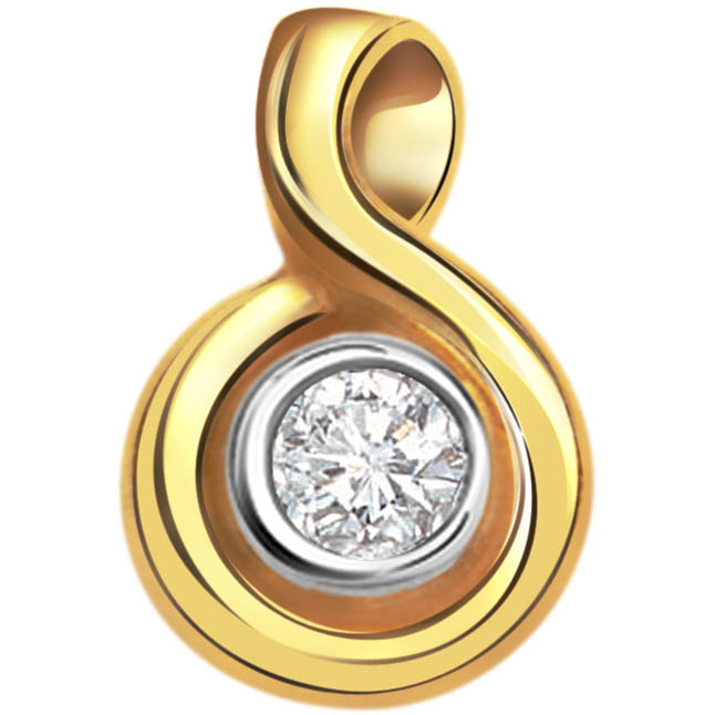 Special Diamond Solitaire Pendants -Solitaire