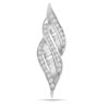 Spiral Passion -0.20 cts White Gold Diamond Pendants -White Gold