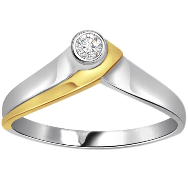 Starry Shine Diamond Solitaire rings SDR255