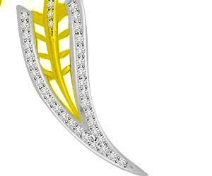 Stat & Arrow 0.30ct Diamond Pendants For Her