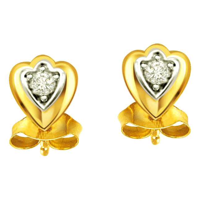 Style Diva -Solitaire Earrings