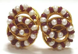 Stylish Sensation Earrings -Pres.Stone Earrings