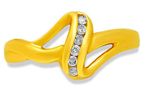 Sweet n Single -diamond rings| Surat Diamond Jewelry