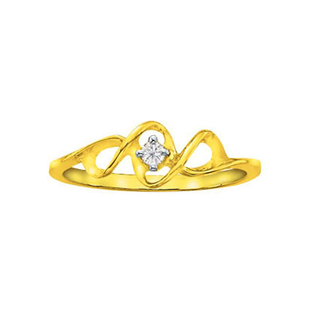 Tango Twins Diamond Style Diva rings -18k Engagement rings