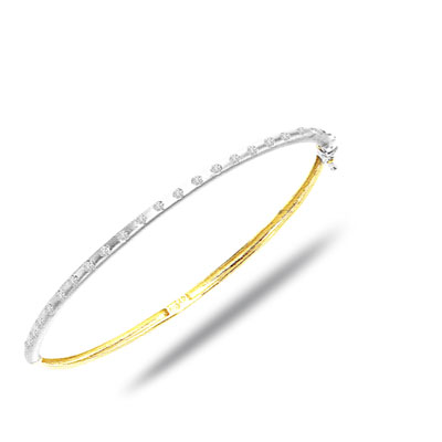 The Lady Charm -0.30 ct VS Clarity Diamond Bracelet -Diamond Bracelets