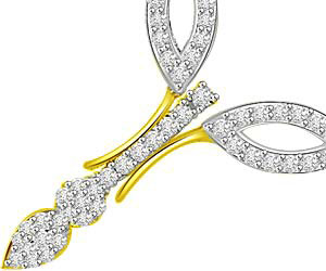 The Power Of Life Diamond & Gold Mangalsutra Pendants