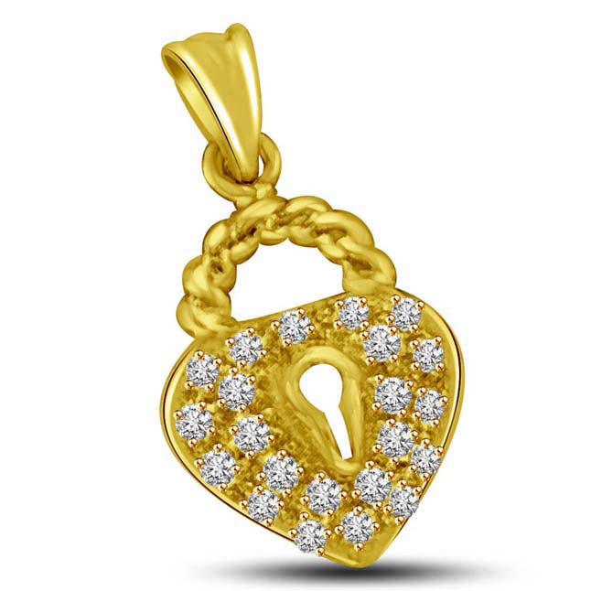 The Wedding Knot 0.15CT Gold & Diamond Pendants for your Beautiful LOVE