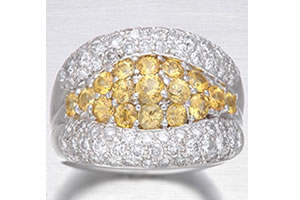 Tie A Knot 1.56CT Diamond rings -Best Seller