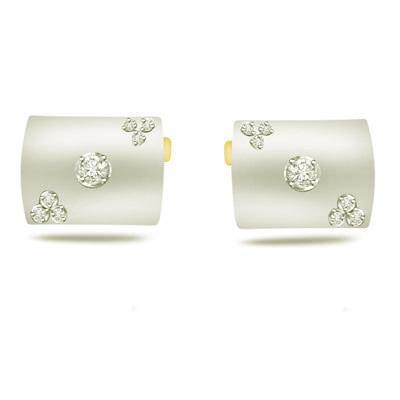 Twilight Trends -0.17ct VS Clarity Diamond Cufflinks -Cufflinks