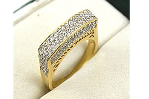 Twisted Magic 1.18 ct Brilliant Diamond rings -Couture Collection