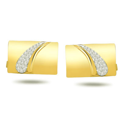 Two To Tango -0.24ct VS Clarity Diamond Cufflinks -Cufflinks