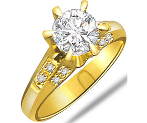 Vs Solitaire Diamond Engagement rings