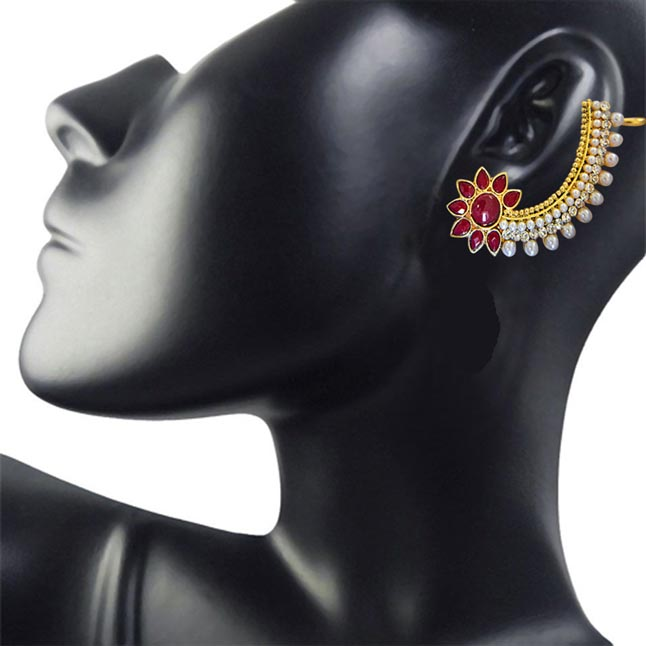 Zenith of Love Ear Cuffs