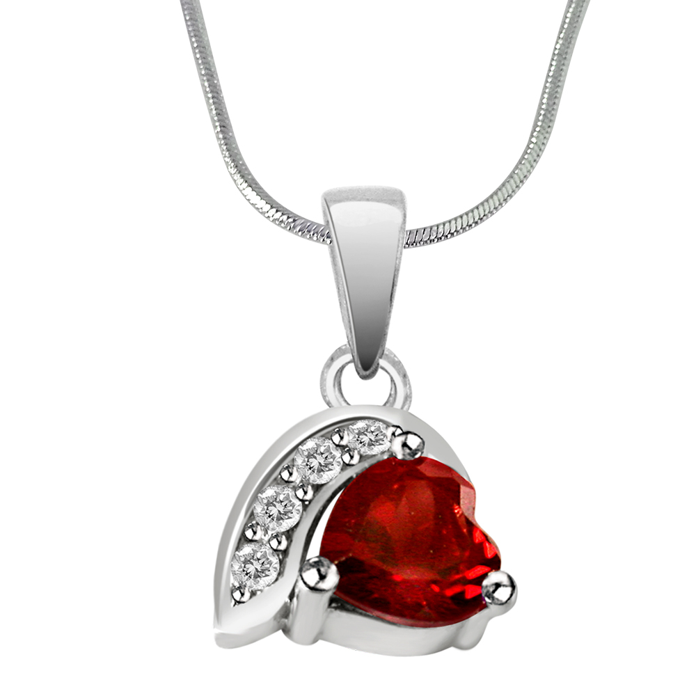 valentine lady love necklace s charm o valentines heart small categories pendant red woman day itm jewelry
