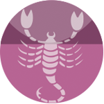 Scorpio or Vrischika Compatible Coral Stone Jewelry
