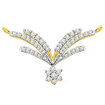 Two Tone Diamond Necklaces