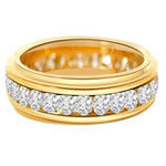Yellow Gold Diamond Eternity Rings